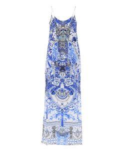 Camilla   Printed Sleeveless Silk Dress