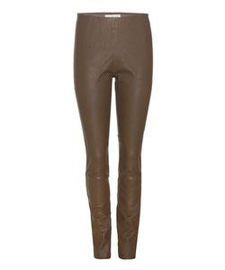 By Malene Birger   Elenasoo Slim Leather Trousers