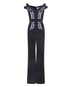Peter Pilotto | Embroidered Crêpe Jumpsuit