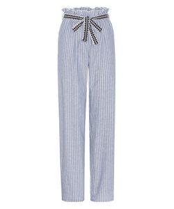 Lemlem | Amara Printed Cotton-Blend Trousers