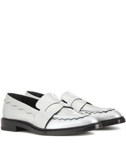 Christopher Kane | Pointy Leather Penny Loafer