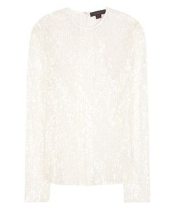 Ellery | Borough Sequinned Tulle Blouse