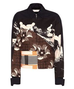 Victoria Beckham | Patch Printed Bomber Jacket