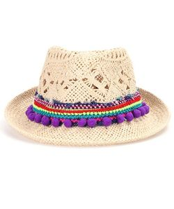 Poupette St Barth | Chacha Embellished Hat