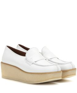 Tomas Maier | Leather Platform Loafers