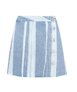3X1   Higher Ground Denim Skirt