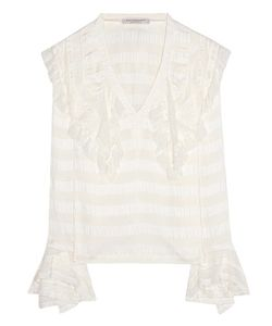 Philosophy di Lorenzo Serafini | Corsair Lace-Trimmed Blouse