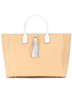 Melissa Odabash | Barbados Cotton And Leather Tote
