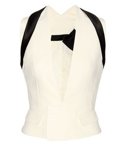Haider Ackermann | Cotton And Silk Crêpe Vest