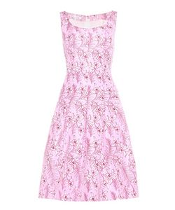 Oscar de la Renta | Printed Dress