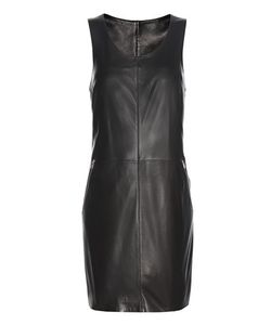 Calvin Klein Jeans | Exclusive To Racer Zip Leather Mini Dress