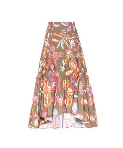 Peter Pilotto | Printed Cotton Skirt