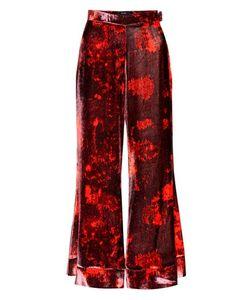 Ellery | Jacquard Printed Velvet Trousers