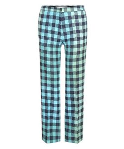 Victoria, Victoria Beckham   Check Wool-Blend Trousers