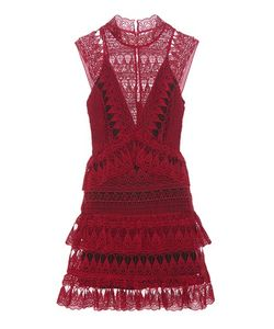 Self-Portrait | Teardrop Guiepere Lace Dress