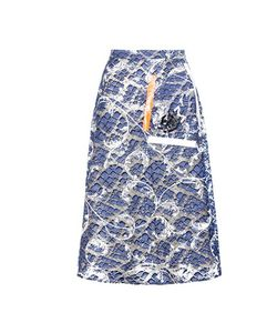 Christopher Kane | Tape Embellished Lace Skirt