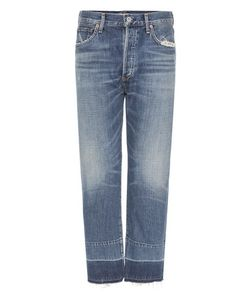 Citizens of Humanity | Cora Crop Relaxed Undone Hem Jeans