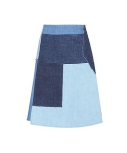 M.i.h Jeans | Turo Patchwork Denim Skirt