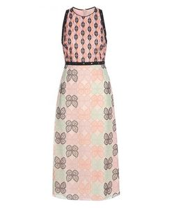 Giamba | Embroidered Midi Dress