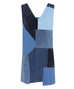 M.i.h Jeans | Suede And Denim Marten Dress