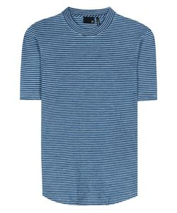 Ag Jeans | Cone Striped Cotton T-Shirt