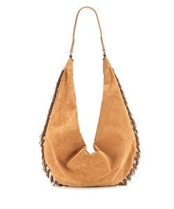 The Row   Sling 15 Suede Shoulder Bag
