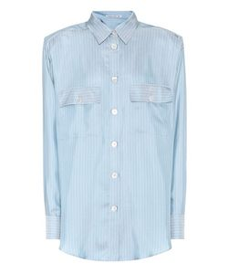 Alessandra Rich | Striped Silk Shirt