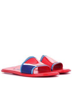 Prada | Rubber Slip-On Sandals