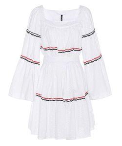 Lisa Marie Fernandez | Short Peasant Eyelet Dress