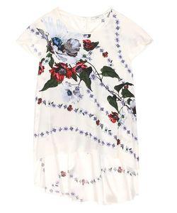 Erdem   Jasmine Printed Silk Top