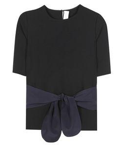 Victoria, Victoria Beckham   Tie Front T-Shirt
