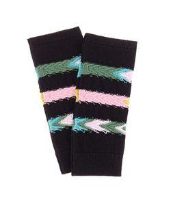 Barrie | Summer Sailor Cashmere Fingerless Gloves