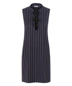 Ganni   Oakwood Twill Mini Dress