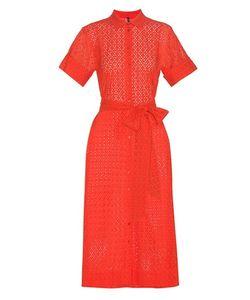 Lisa Marie Fernandez | Cotton Eyelet Shirt Dress