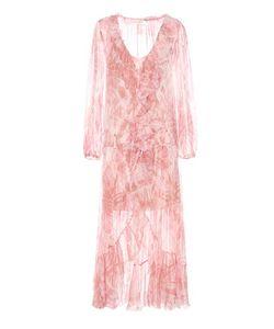 Zimmermann | Winsome Ruffle Robe Silk Dress