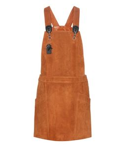 Coach | Suede Pinafore Dress
