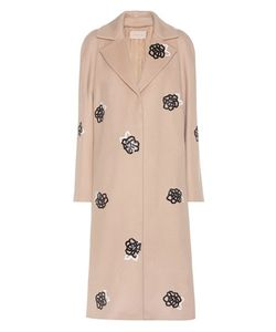 Christopher Kane | Embellished Virgin Wool Coat
