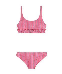 Lisa Marie Fernandez   Colby Ruffled Seerusker Bikini