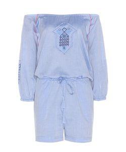 Lemlem | Oni Off-The-Shoulder Cotton Playsuit