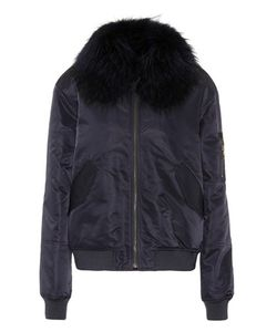 Army Yves Salomon | Fur-Trimmed Cotton Coat