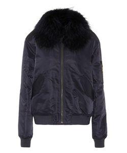 Army Yves Salomon   Fur-Trimmed Cotton Coat