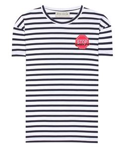 Être Cécile | Striped Cotton T-Shirt