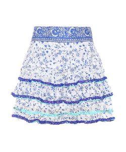 Poupette St Barth | Bibi Printed Cotton Miniskirt