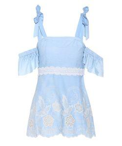 Athena Procopiou   Off-The-Shoulder Cotton Top