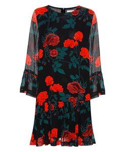 Ganni   Newman Printed Georgette Dress