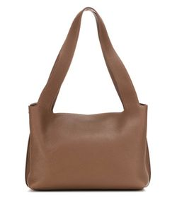 The Row | Duplex Small Leather Shoulder Bag