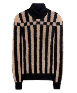 Loewe   Striped Mohair-Blend Turtleneck Sweater