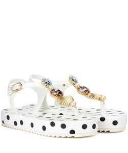 Dolce & Gabbana | Platform Sandals With Embellishment