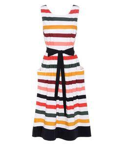 Carolina Herrera | Striped Cotton Dress