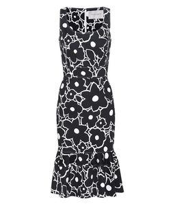 Carolina Herrera | Printed Stretch-Cotton Dress
